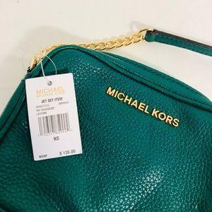 Michael Kors crossbody color Emerald